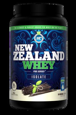 New Zealand Whey Isolate Vanilla, 910 g   NutriFarm.ca
