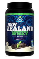 New Zealand Whey Isolate Vanilla, 910 g | NutriFarm.ca