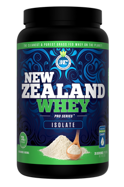 New Zealand Whey Isolate Natural (Unflavoured), 910 g   NutriFarm.ca