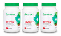 Organika Goutrin, 3 * 120 Vegetable Capsules (Bundle deal) | NutriFarm.ca