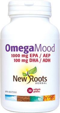 New Roots OmegaMood, 30 softgels   NutriFarm.ca