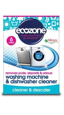 Ecozone Washing Machine & Dishwasher Cleaner, 6 uses | NutriFarm.ca
