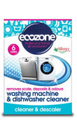 Ecozone Washing Machine & Dishwasher Cleaner, 6 uses | NutriFarm.ca