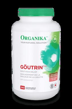 Organika Goutrin, 240 Vegetable Capsules | NutriFarm.ca