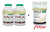 Organika Maca 750 mg, 2 x 180 Vegetable Capsules + (FREE) Maca, 400 g   NutriFarm.ca