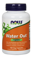 NOW Water Out Herbal Diuretic, 100 Vegetable Capsules | NutriFarm.ca