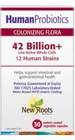 New Roots Human Probiotics, 30 Capsules | NutriFarm.ca