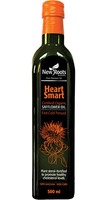 New Roots Heart Smart Certified Organic Safflower Oil, 500 ml | NutriFarm.ca