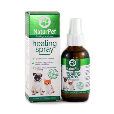 NaturPet Healing Spray (for dogs and cats), 100 ml | NutriFarm.ca