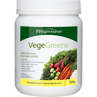 Progressive Vegegreens Pineapple Coconut, 530 g | NutriFarm.ca