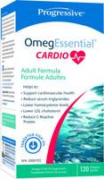 Progressive Omegessentials Cardio, 120 Softgels | NutriFarm.ca