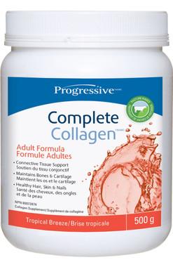 Progressive Complete Collagen Tropical Breeze, 500 g | NutriFarm.ca