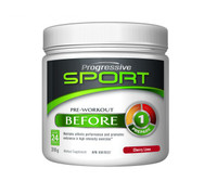 Progressive Sport Pre-Workout Before Cherry Lime, 318 g | NutriFarm.ca
