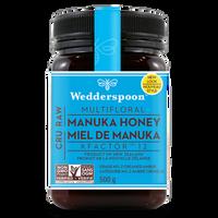 Wedderspoon Manuka Raw Honey KFactor 12, 500 g | NutriFarm.ca