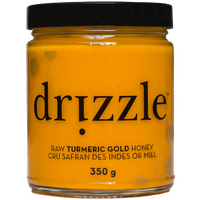 Drizzle Honey Tumeric Gold Raw Honey, 350 g | NutriFarm.ca