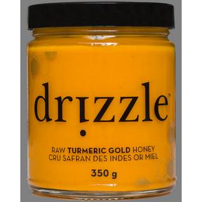Drizzle Honey Tumeric Gold Raw Honey, 350 g | NutriFarm.ca