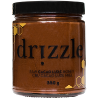 Drizzle Honey Cacao Luxe Raw Honey, 350 g | NutriFarm.ca