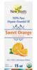 New Roots Sweet Orange Essential Oil, 15 ml | NutriFarm.ca