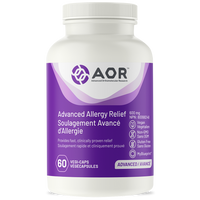 AOR Advanced Allergy Relief, 60 VegCaps | NutriFarm.ca