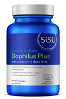 Sisu Dophilus Extra Strength 10 billion, 60 Caps | NutriFarm.ca
