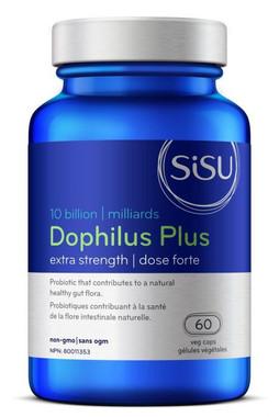 Sisu Dophilus Extra Strength 10 billion, 60 Caps | NutriFarm.ca