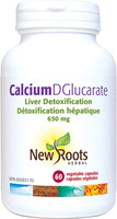 New Roots Calcium DGlucarate, 60 Vegetable Capsules | NutriFarm.ca