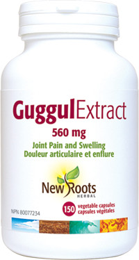 New Roots Guggul Extract, 150 Capsules   NutriFarm.ca
