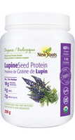 New Roots Lupine Seed Protein, 250 g | NutriFarm.ca