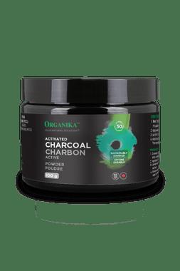 Organika Activated Charcoal Powder, 100 g | NutriFarm.ca
