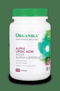 Organika Alpha Lipoic Acid 100 mg, 120 Caps | NutriFarm.ca