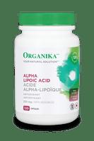 Organika Alpha Lipoic Acid 250 mg, 120 Caps | NutriFarm.ca