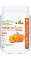 New Roots Pumpkin Seed Powder, 450 g | NutriFarm.ca