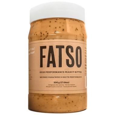 FATSO Peanut Butter, 500 g   NutriFarm.ca