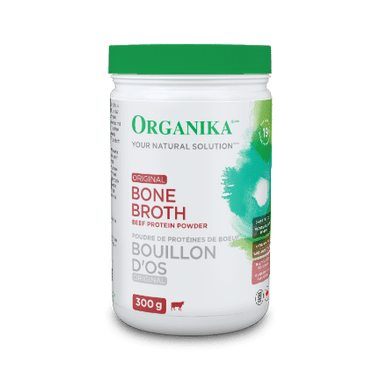 Organika Bone Broth Beef Original, 300 g | NutriFarm.ca