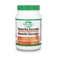 Organika Boswellia Curcumin Complex, 90 Caps | NutriFarm.ca