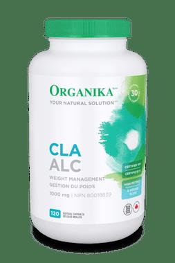 Organika CLA(Conjugated Linoleic Acid) 95%, 120 Softgels | NutriFarm.ca