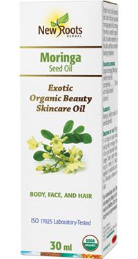 New Roots Moringa Seed Oil, 30 ml | NutriFarm.ca