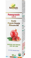 New Roots Pomegranate Seed Oil, 50 ml | NutriFarm.ca