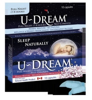 U-Dream Sleep Naturally (Full), 10 Capsules | NutriFarm.ca