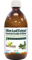 New Roots Olive Leaf Extract, 500 ml | NutriFarm.ca
