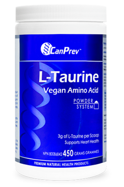CanPrev L-Taurine, 450 g | NutriFarm.ca