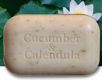 The Soap Works Cucumber and Calendula Soap, 110 g