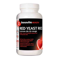 Innovite Red Yeast Rice, 120 Caps | NutriFarm.ca