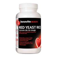 Innovite Red Yeast Rice, 120 Caps | NutriFarm.ca