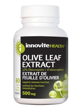 Innovite Olive Leaf Extract, 60 Caps | NutriFarm.ca