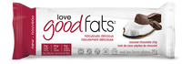 Love Good Fats Coconut Chocolate Chip Snack Bars, 1 box (12 bars) | NutriFarm.ca