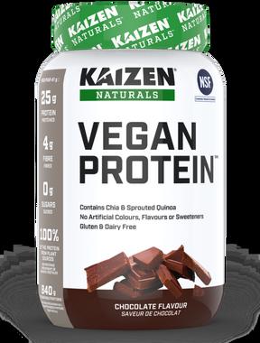 Kaizen Vegan Protein Chocolate, 840 g   NutriFarm.ca