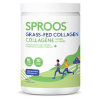 Sproos Grass-Fed Collagen (Unflavoured), 300 g | NutriFarm.ca