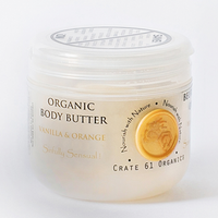 Crate 61 Organics Vanilla Orange Body Butter, 140 g | NutriFarm.ca