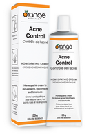 Orange Naturals Acne Control Homeopathic Cream, 50 g | NutriFarm.ca